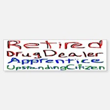 Retired Apprentice Bumper Bumper Bumper Sticker