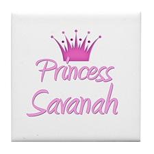 Princess Savanah Tile Coaster