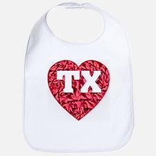 TX Heart New Bib