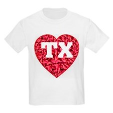 TX Heart New Kids T-Shirt