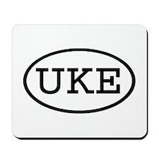 UKE Oval Mousepad