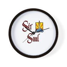Sir Saul Wall Clock