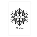 flake Postcards (Package of 8)