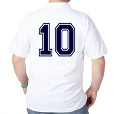 NUMBER 10 BACK T-Shirt