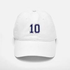 NUMBER 10 FRONT Cap
