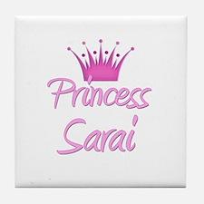 Princess Sarai Tile Coaster