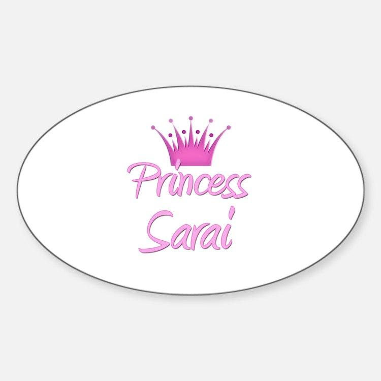 Princess Sarai Oval Decal