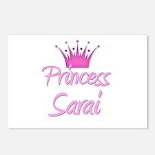 Princess Sarai Postcards (Package of 8)