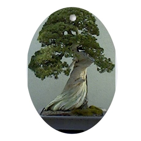 Bonsai Garden Oval Ornament