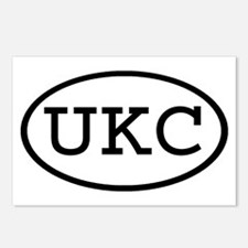 UKC Oval Postcards (Package of 8)