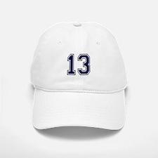 NUMBER 13 FRONT Baseball Baseball Cap
