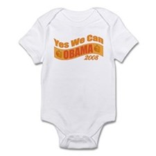 "Halloween Theme ""Yes We Can"" Obama Infant Bodysuit"