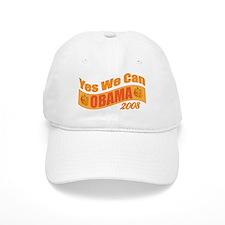 "Halloween Theme ""Yes We Can"" Obama Baseball Cap"
