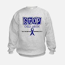 Stop Child Abuse 1 Sweatshirt