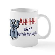 Scary Kitty Small Mug