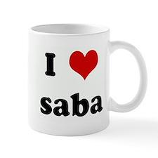 I Love saba Mug