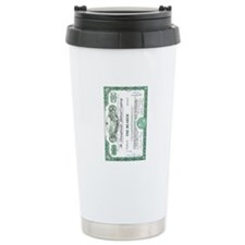 PRR 1959 Stock Certificate Travel Mug