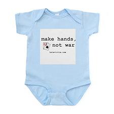 """make hands, not war"" Infant Creeper"