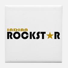 Indian Rockstar 2 Tile Coaster