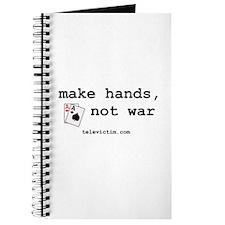 """""""make hands, not war"""" Journal"""