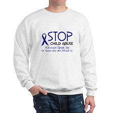 Stop Child Abuse 2 Sweatshirt