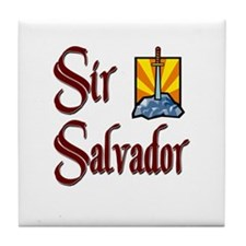 Sir Salvador Tile Coaster