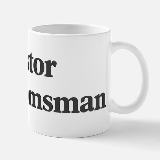 Nestor the groomsman Mug