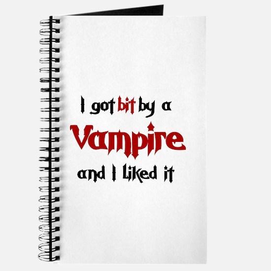 I got bit by a Vampire Journal