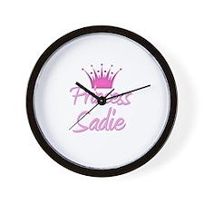 Princess Sadie Wall Clock