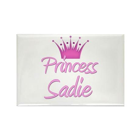Princess Sadie Rectangle Magnet