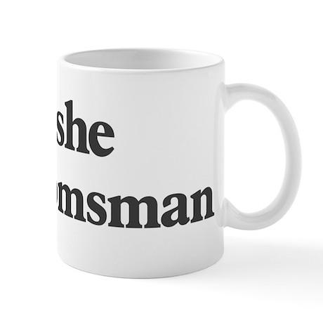 Moshe the groomsman Mug