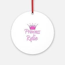 Princess Rylie Ornament (Round)