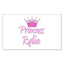 Princess Rylie Rectangle Decal