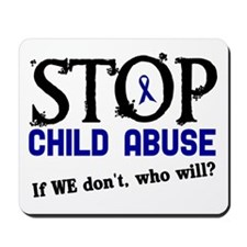 Stop Child Abuse 3 Mousepad