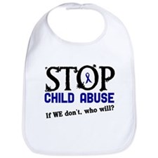 Stop Child Abuse 3 Bib