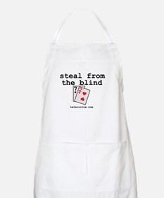 """""""steal from the blind"""" BBQ Apron"""