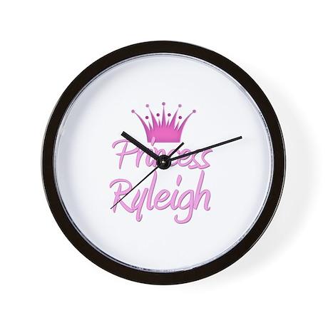 Princess Ryleigh Wall Clock