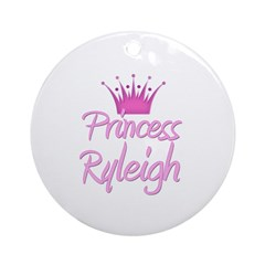 Princess Ryleigh Ornament (Round)