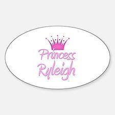 Princess Ryleigh Oval Decal