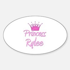 Princess Rylee Oval Decal