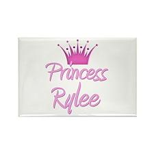Princess Rylee Rectangle Magnet