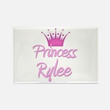 Princess Rylee Rectangle Magnet