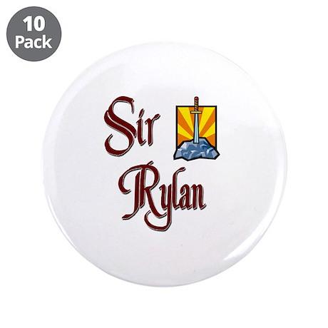 """Sir Rylan 3.5"""" Button (10 pack)"""