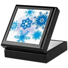 Christmas Snowflake Keepsake Box