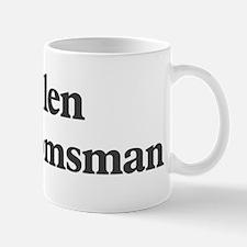 Kellen the groomsman Small Small Mug