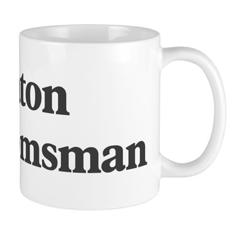 Keaton the groomsman Mug