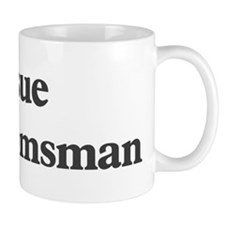 Josue the groomsman Small Mug