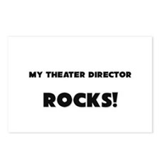 MY Theater Director ROCKS! Postcards (Package of 8