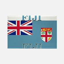 Fiji Fijian Flag Rectangle Magnet