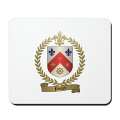 PINARD Family Crest Mousepad